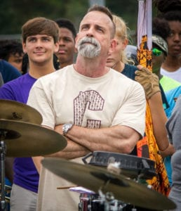Tim Hinton Founder of Marching Arts Education and Marching Roundtable Podcast Composer and Drill Writer of Marching Band Shows like Colleton School 2018